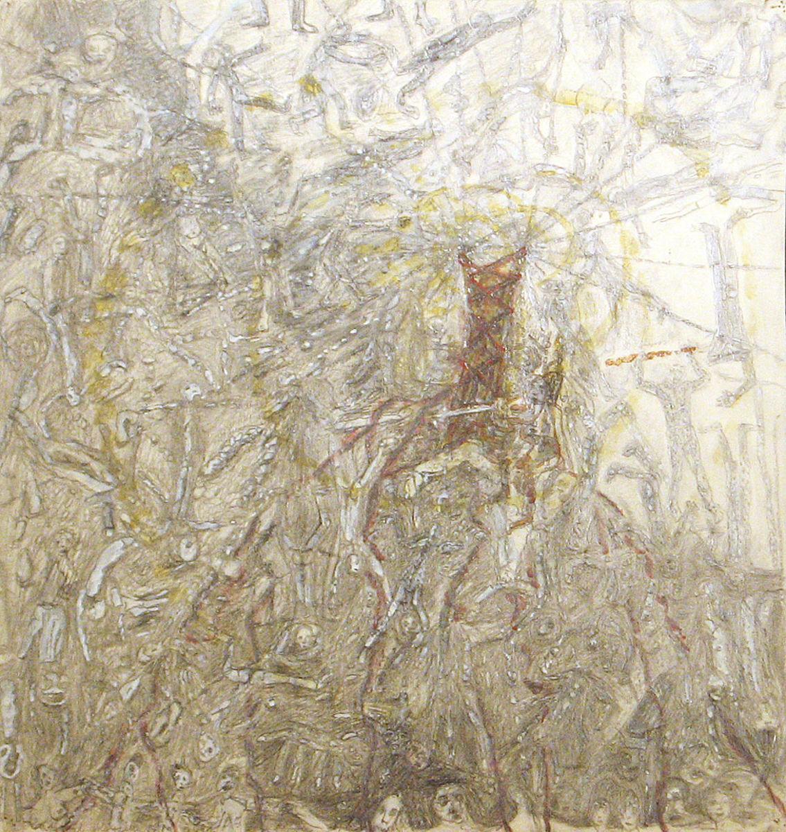 A halál angyala - p. cer. temp. 40x37 cm (2011)