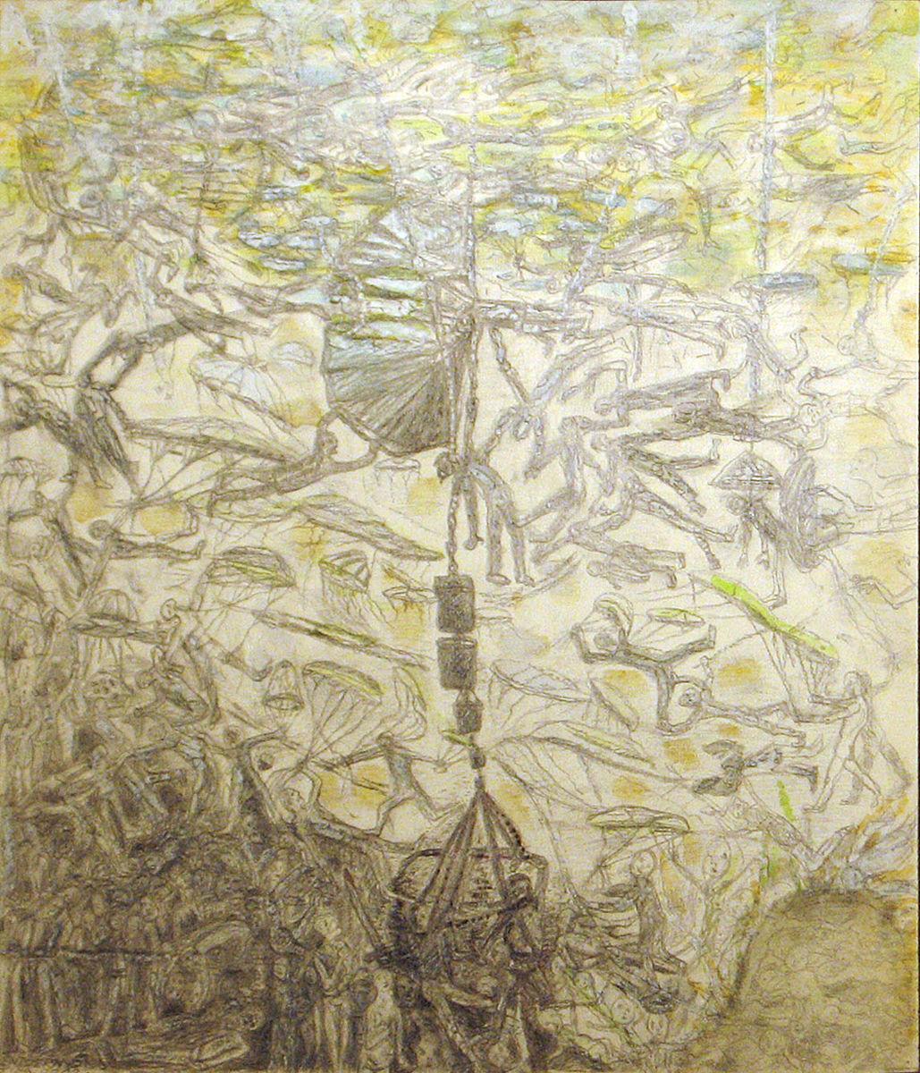 Mentőernyők - p. cer. temp 43x38,5 cm (2012)