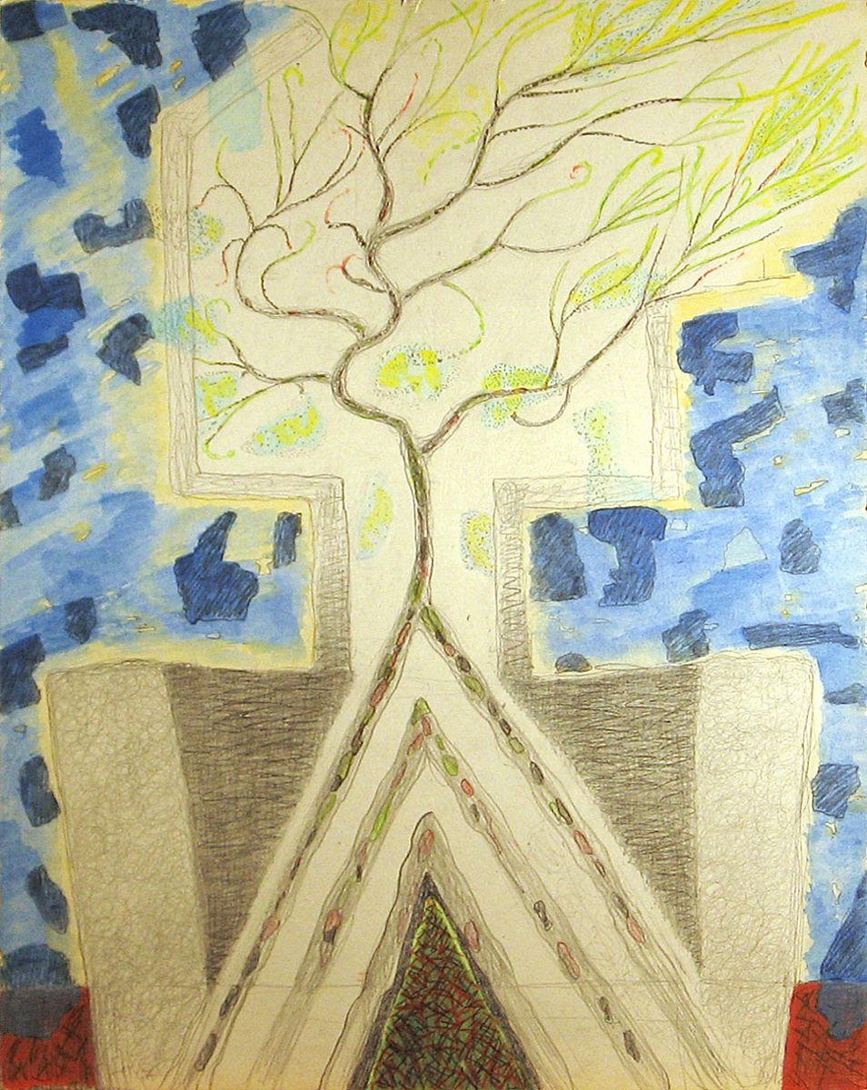 Imádkozó - p. temp. 67,5x49,5 cm (2012)