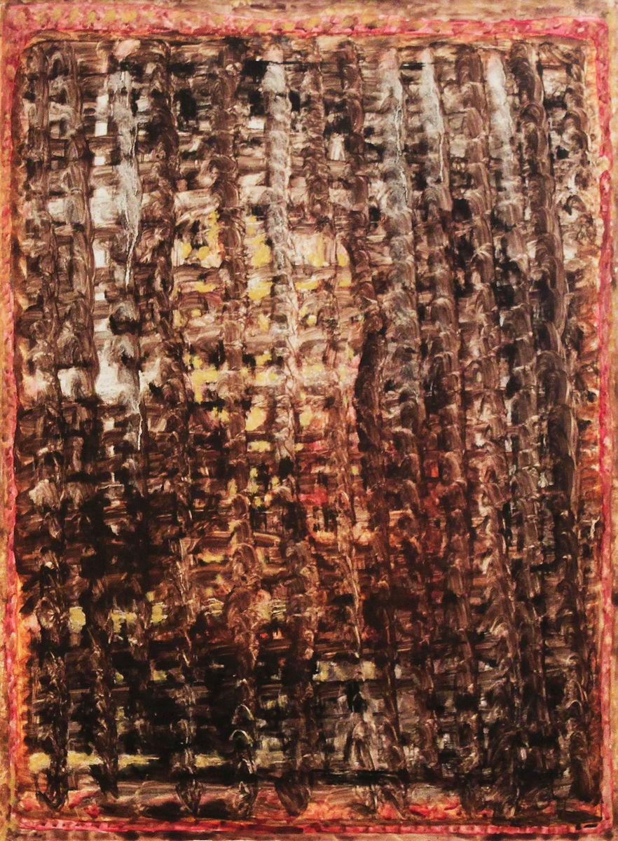 Veronika kendője II. - p. temp. 64x47,5 cm (1996)