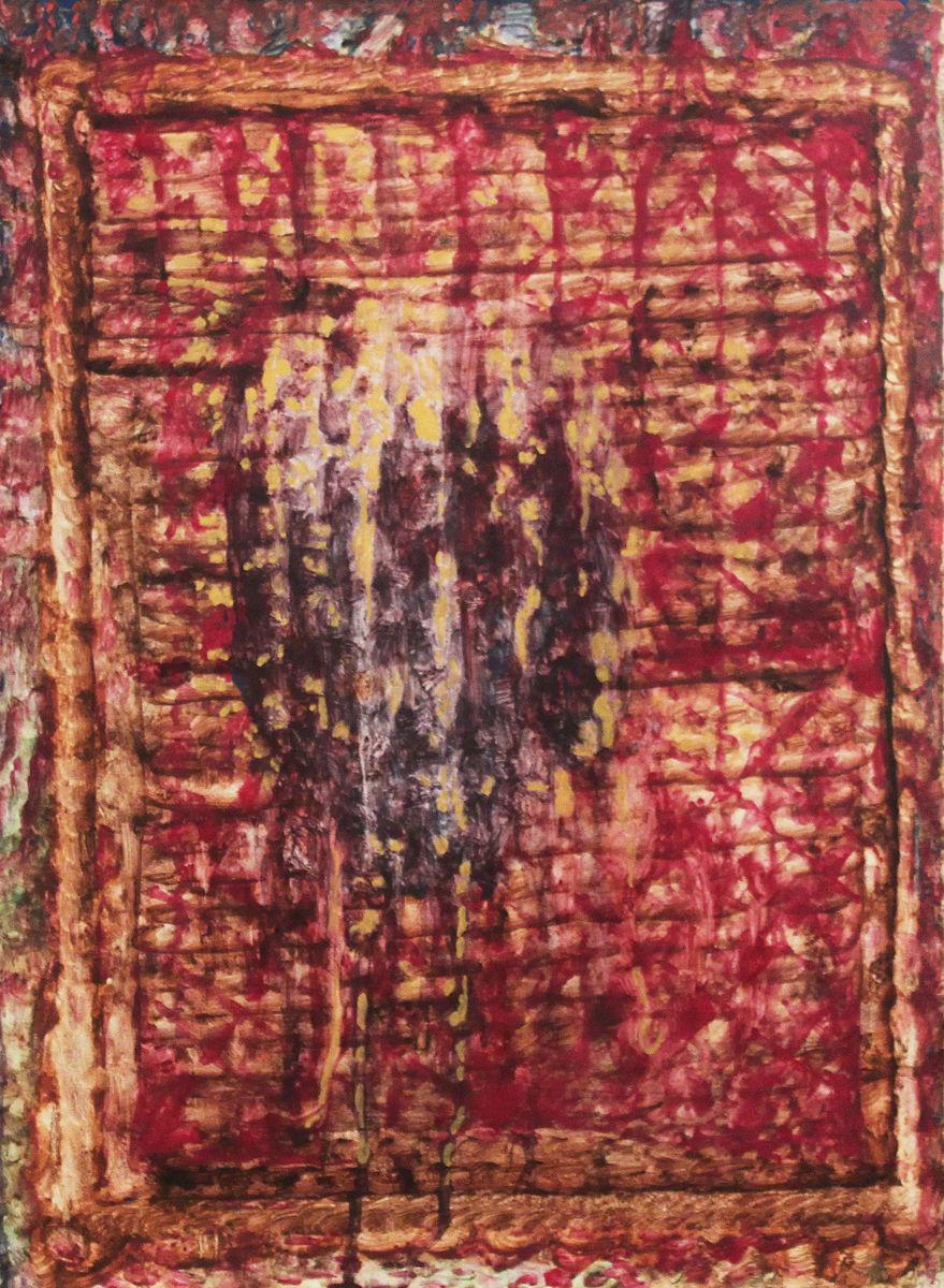 Veronika kendője I. - p. temp. 64x47,5 cm (1996)