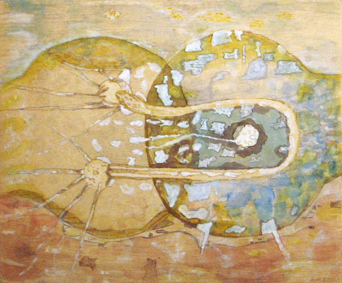 Királynő és király - p. karton, temp. 32x39 cm (2011)